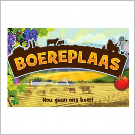 Boereplaas Board Games