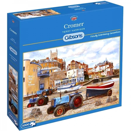 Gibsons Puzzles 1000Pce Cromer
