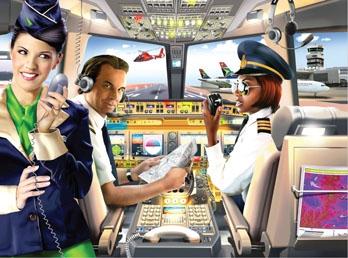 RGS Puzzle Pilot 80pcs