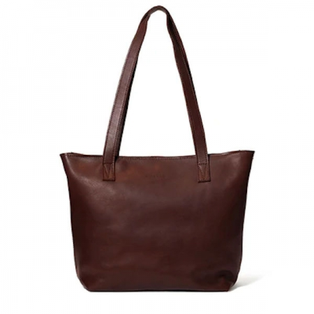 Antelo Emmy Unlined Leather Handbags Brown