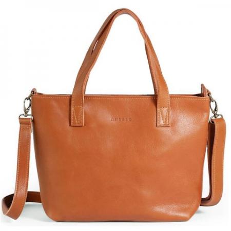 Antelo Katie Unlined Leather Handbags Cider