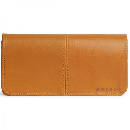 Antelo Gabriella Leather Mustard Wallet