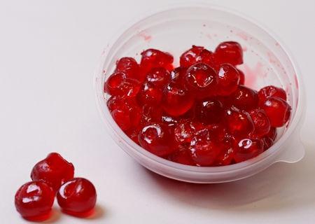 Red Broken Glazed Cherries (250 g)