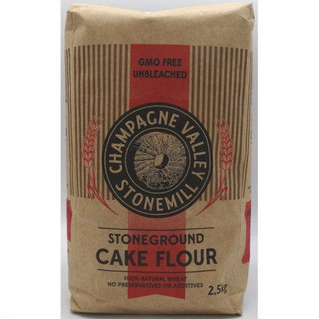 Champagne Stoneground Cake Flour 2.5kg