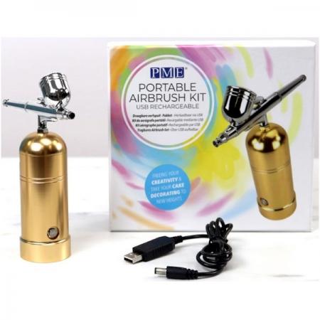 PME Portable Airbrush Compressor Kit