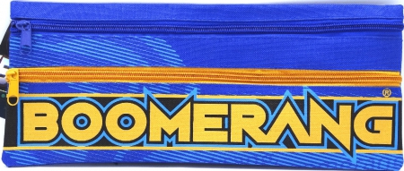Boomerang 2 Zipper Pencil Case 33x15cm Sale Assort