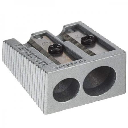 Staedtler Sharpener Double Hole Metal