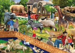 RGS Wooden Puzzle Zoo 36Pcs