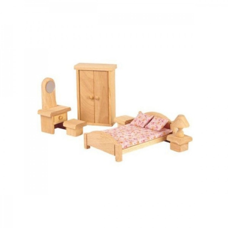 Bedroom Wood Dollhouse Furniture Demza, Pictures Of Dollhouse Furniture