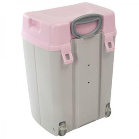 Cadii School Bags Todii Grey Pink