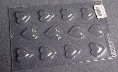 valentines Heart Chocolate Mould