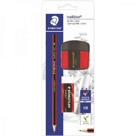 Staedtler Eco Trad Pencil HB Eraser Sharpener