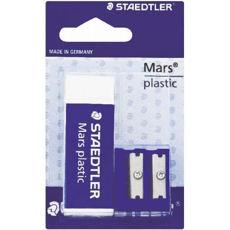 Staedtler Erasers Mars & D/H Sharpener Plastic