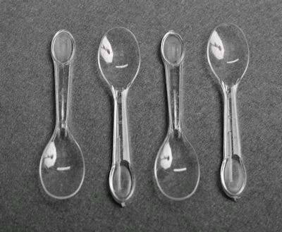 Plastic Ice Cream Spoon (100)