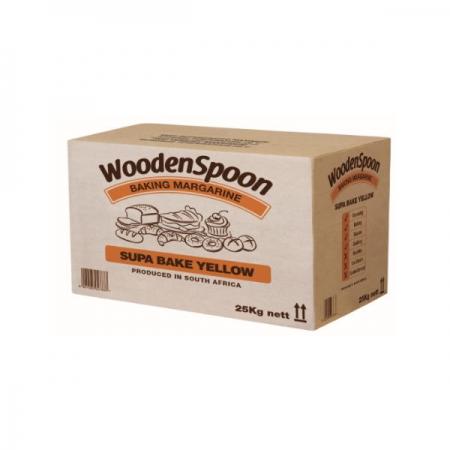 Wooden Spoon Margarine Yellow Super Bake (25 kg)