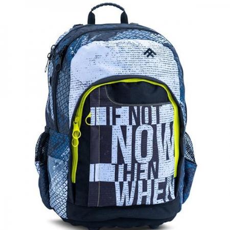 Totem School Bags Large Street Access Grey