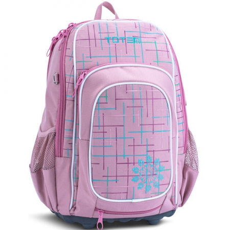 Totem School Bags Medium Craze Emily Pink