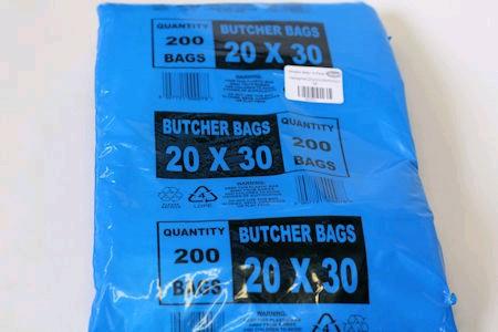 20x30x18 Clear Plastic Bag (200)