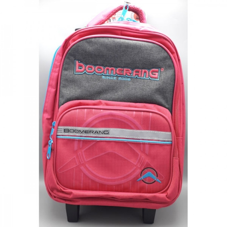 Boomerang School Bags Medium Trolley Pink