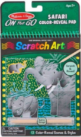 Melissa & Doug Safari Reveal Pad On the Go