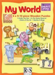 RGS Puzzle My World Birds Animals