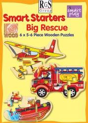 RGS Puzzle Big Rescue Smart Starter 5&6 Pce