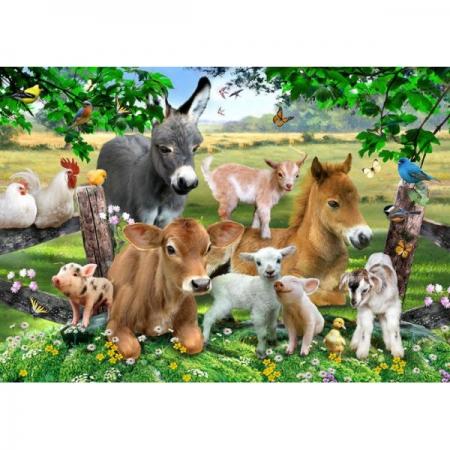 RGS Puzzle Farm Animals 36pcs