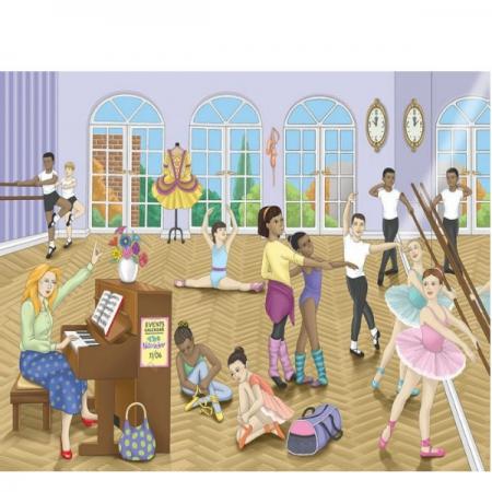 RGS Puzzles Ballet 48Pce