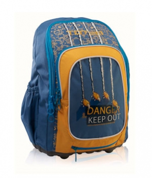 Totem Orthopedic School Bags Medium Craze Danger
