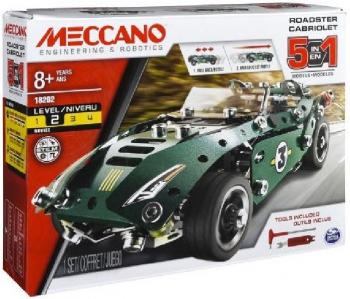 Meccano 5 Model Set Pullback Car 6040176