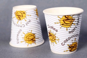 12 Oz Ribbed Paper Cup (100)