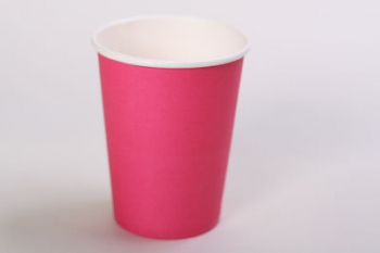 Hot Pink Paper Cup (10)
