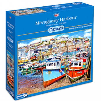 Gibsons Puzzles 1000Pce Mevagissey Harbour