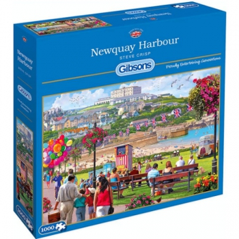Gibsons Puzzles 1000Pce Newquay Harbour