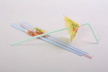 Straws with Umbrella (12)