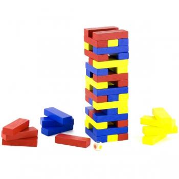 Viga Wooden Block Tower Game