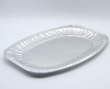 CW014 Oval Foil Platter (50)