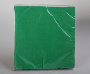2 Ply Apple Green Table Serviettes (20)