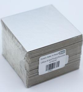 76 mm Silver Thin Square Cake Board (40)