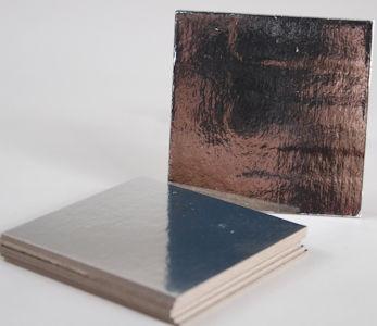 76 mm Silver Thin Square Cake Board (8)