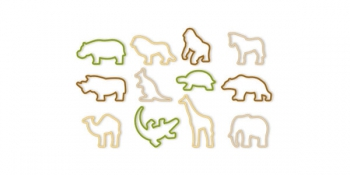 Tescoma Zoo Cookie Cutter