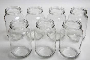 1 L Glass Catering Jar (12) Lids are sold separate