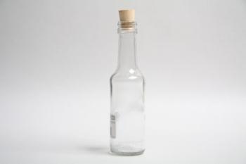 125 ml Cork Worcester Sauce Glass Bottle
