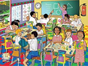 RGS Puzzle Classrooms 50pcs
