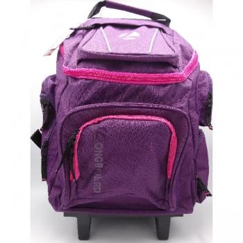 Longboard Trolley School Bags Large Pink