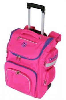 Longboard/Smash Trolley School Bags XL Pink