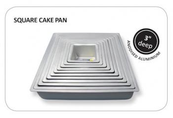 PME Square Cake Tin 12x12x3 Inch