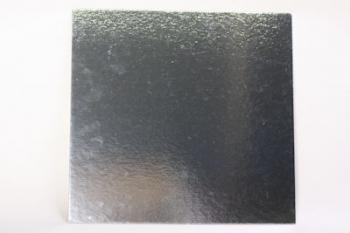 305 mm Square Silver Cake Board (40)