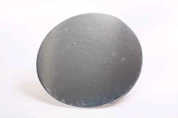 254 mm Round Silver Cake Board