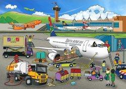 RGS Wooden Puzzle Airport 24Pcs